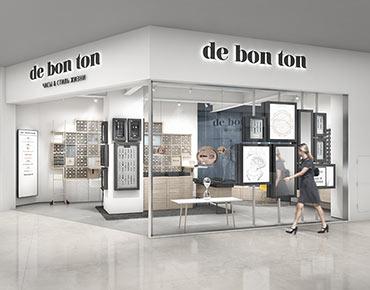 осветительное оборудование для магазина De Bon Ton