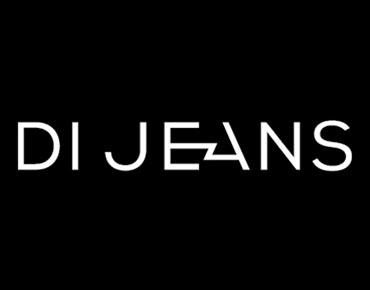 Фирменный стиль и логотип сети магазинов Di Jeans, Челябинск