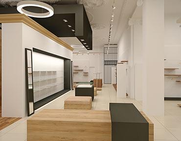 Проект освещения для магазина женской одежды Lola Ribour, г. Белгород